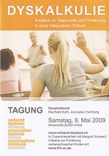 Flyer Dyskalkulietagung in Zrich